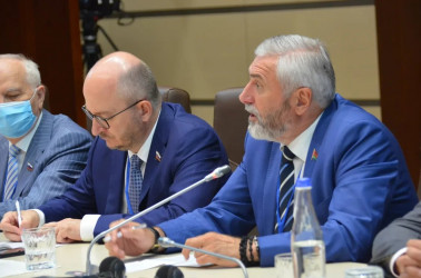 Зинаида Гречаный встретилась с Главой Миссии СНГ и группой наблюдателей от МПА СНГ 10.07.2021