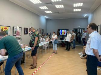 Выборы в Парламент Молдовы. 11 июля. Участок в Санкт-Петербурге