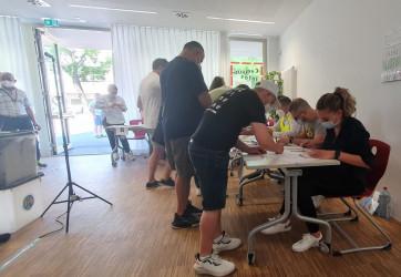 Выборы в Парламент Молдовы. 11 июля. Участок в Берлине