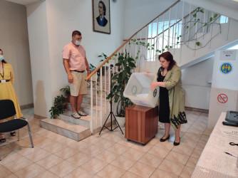 Выборы в Парламент Молдовы. Участок в Минске