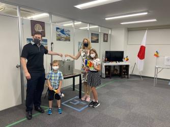 Наблюдение на зарубежных участках на выборах в Парламент Молдовы. 11 июля в Японии