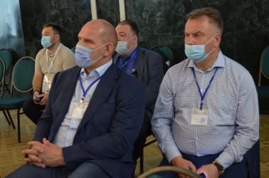 Итоговая пресс-конференция Миссии наблюдателей от СНГ на выборах Парламента Республики Молдова 12.07.2021