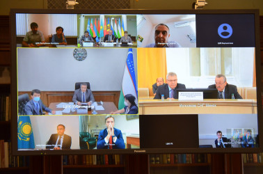 Заседание экспертной группы по вопросу создания Консультативного совета руководителей избирательных органов стран СНГ, 4.08.2021