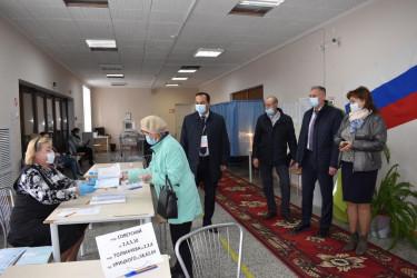 Международные наблюдатели от МПА СНГ работают в Северо-Западном регионе России