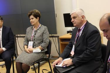 Международные наблюдатели провели встречу с главой ЦИК России