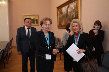 Встреча Зинаиды Гречаный с заместителем Председателя Парламентской Ассамблеи Организации по безопасности и сотрудничеству в Европе Пиа Каума