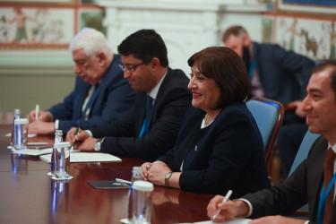 Встреча Валентины Матвиенко и Сагибы Гафаровой