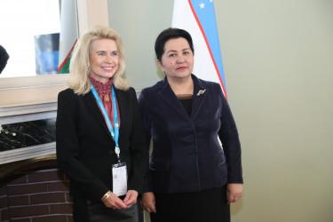 Встреча Танзилы Нарбаевой с заместителем Председателя Парламентской Ассамблеи Организации по безопасности и сотрудничеству в Европе Пиа Каума