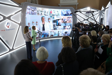 Первый день Евразийского женского форума. 13 октября 2021