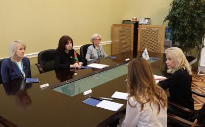 Встреча Натальи Кочановой и заместителя Председателя Парламентской Ассамблеи Организации по безопасности и сотрудничеству в Европе Пией Каума
