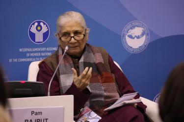 Заседание «Женской двадцатки» (W20). 14 октября 2021