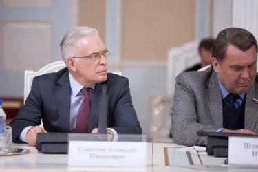 Валентина Матвиенко встретилась с Махмадсаидом Убайдуллоевым 12.03.14