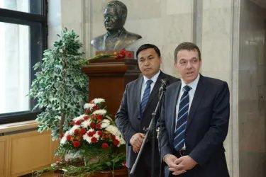 Научная конференция об эпосе «Манас» 08.05.14