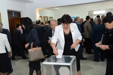 Выборы в Сенат Парламента Казахстана в Жамбылской области