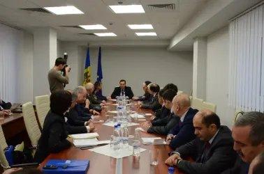 Встреча с лидером Демократической партии Молдовы