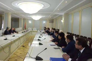 Встреча с первым заместителем Народно-демократической партии Таджикистана