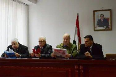 Наблюдатели посетили штаб-квартиру Коммунистической партии Таджикистана