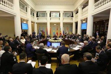 Заседание Совета МПА СНГ 16.04.2015