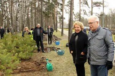 Акция МПА СНГ «Зеленая волна» в Санкт-Петербурге