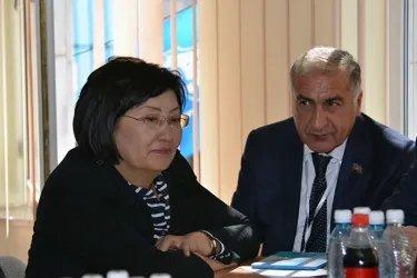 Встреча с представителями партии «Бир Бол»