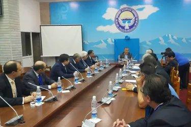 Встреча с представителями партии «Ата-Мекен»