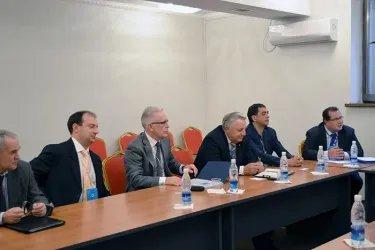 Встреча с коллегами из БДИПЧ ОБСЕ