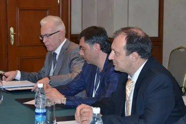 Встреча с коллегами из ПА ОБСЕ