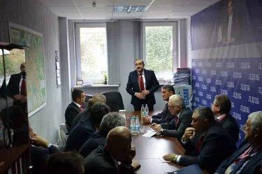 Встреча с кандидатом в Президенты Республики Беларусь Сергеем Гайдукевичем