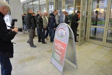 Избирательный участок в Москве