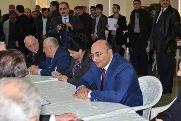 Встреча с представителями партии «Умид»