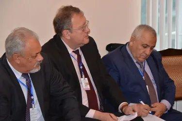 Встреча с представителями партии «Великое Созидание»