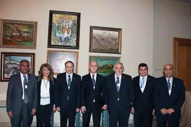 На встрече с делегацией парламентариев из Сирии