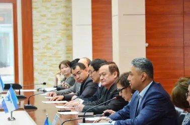 Встреча наблюдателей от МПА СНГ с Председателем Демократической партии