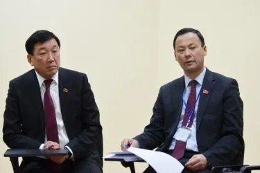 Встреча наблюдателей от МПА СНГ с представителями Общенациональной Социал-демократической партии