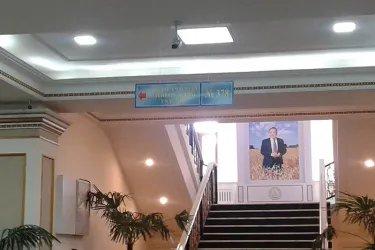 Наблюдатели от МПА СНГ на избирательном участке в Алматы