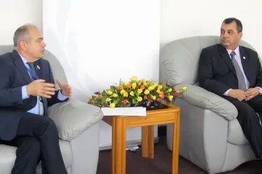 Встреча с Председателем МПС Сабером Чоудхури