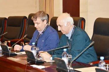 Встреча наблюдателей от МПА СНГ с Жорди Шуклой главой Миссии международных наблюдателей от ПА СЕ