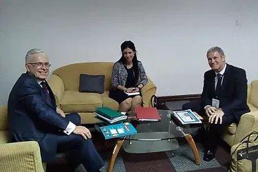 Встреча с Директором Департамента репродуктивного здоровья и научных исследований ВОЗ Яном Эскью