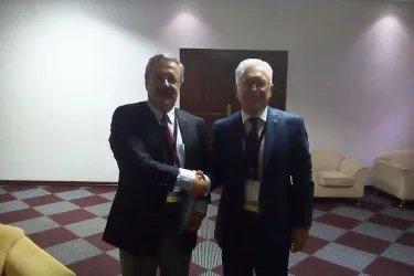 Встреча с Генеральным секретарем Парламентского союза Организации исламского сотрудничества Махмудом Эролом Килич