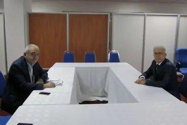 Встреча с Генеральным секретарем ПАЧЭС Асафом Гаджиевым