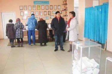 Наблюдатели от МПА СНГ на избирательном участке в Астане