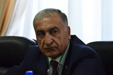 Встреча наблюдателей от МПА СНГ с главой Парламента Республики Таджикистан Шукурджоном Зухуровым