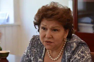 Интервью Эрмине Нагдалян  представителям СМИ
