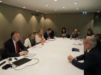 Встреча Генерального секретаря Совета МПА СНГ с делегацией Европейского парламента