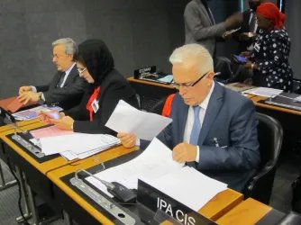 Делегация МПА СНГ принимает участие в Парламентской конференции ВТО
