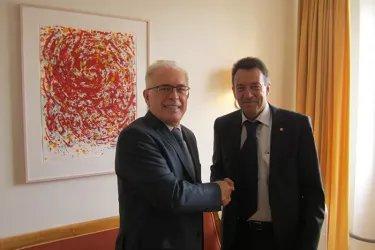 Встреча Генерального секретаря Совета МПА СНГ Алексея Сергеева с Президентом МККК Петером Маурером