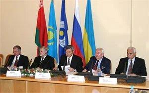 Заседание парламентских делегаций в Межпарламентской Ассамблее СНГ государств – участников Соглашения о формировании Единого экономического пространства.