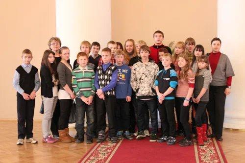 Воспитанники Тихвинского детского дома приехали в Таврический дворец