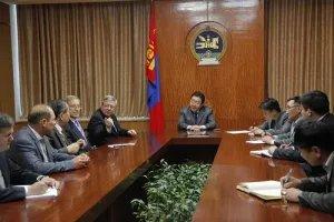 Президент Монголии принял в своей резиденции в г. Улан-Батор группу наблюдателей от Межпарламентской Ассамблеи СНГ