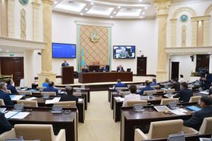 Сенаторы Республики Казахстан приняли поправки по вопросам парламентской оппозиции